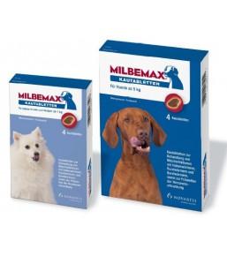 Milbemax kauwtabletten voor honden en puppy's