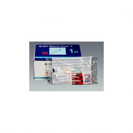U-40 BD Micro-Fine + spuitjes voor insuline