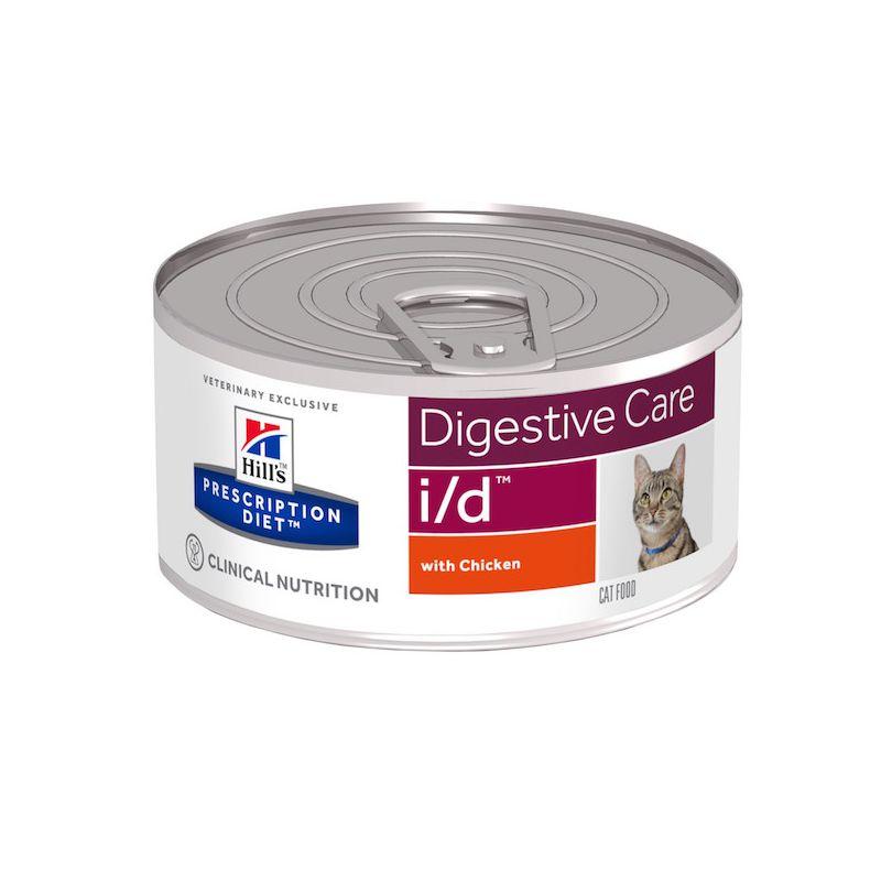 prescription diet i d feline blikvoer kip voor katten met maag darmproblem. Black Bedroom Furniture Sets. Home Design Ideas