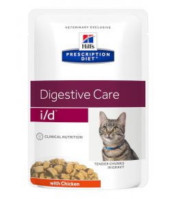 Prescription Diet i/d Feline Maaltijdzakjes Kip