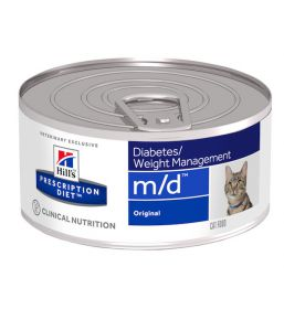 Hill's Prescription Diet m/d Feline Minced with Liver (blikvoer)