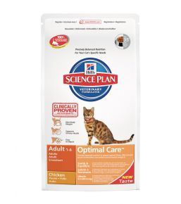 Science Plan Feline Adult Optimal Care Kip