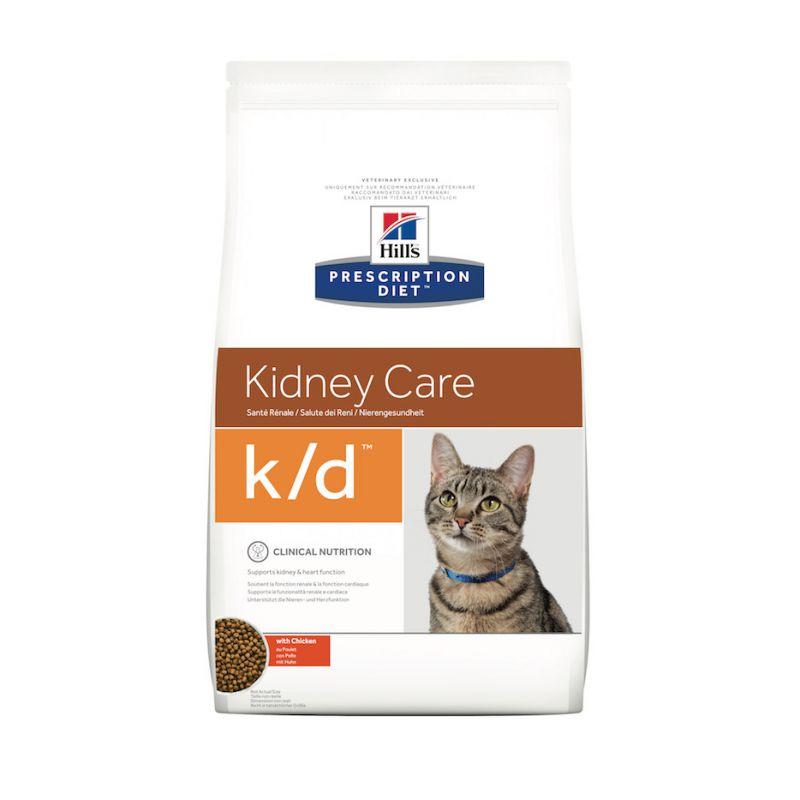 prescription diet k d feline voor katten met nier of hartproblemen hill 39 s direct dierenarts. Black Bedroom Furniture Sets. Home Design Ideas