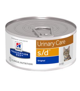 Hill's Prescription Diet s/d Feline Minced with Liver (blikvoer)