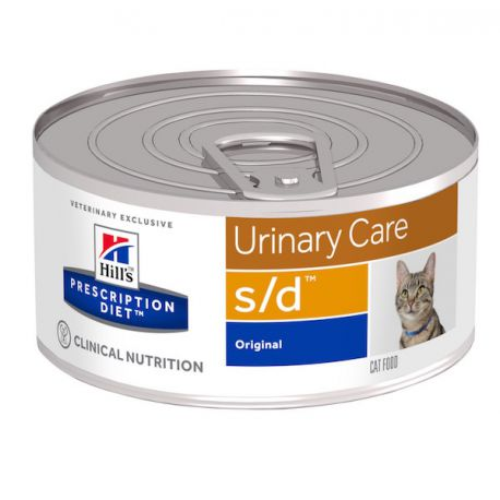 Hill's Prescription Diet s/d Feline Minced with Liver (blikvoer)