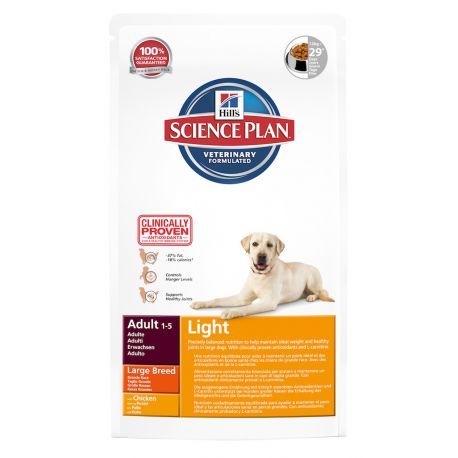 Science Plan Canine Adult Light Large Breed