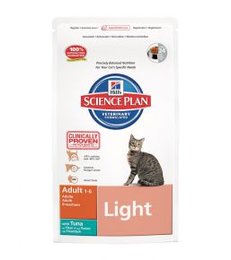 Science Plan Feline Adult Light Tonijn