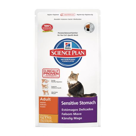 Science Plan Feline Adult Sensitive Stomach