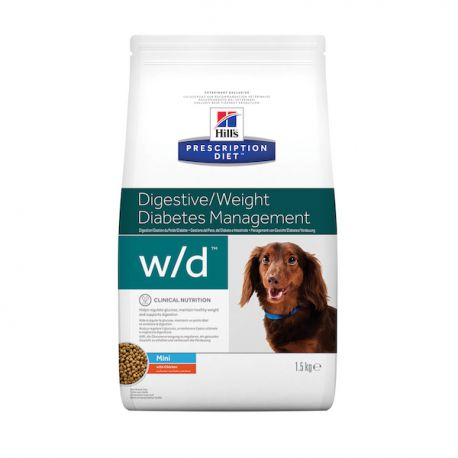 Hill's Prescription Diet W/D Mini Canine