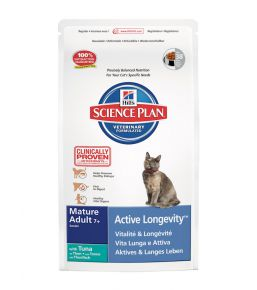 Science Plan Feline Mature Adult 7+ Active Longevity Tonijn