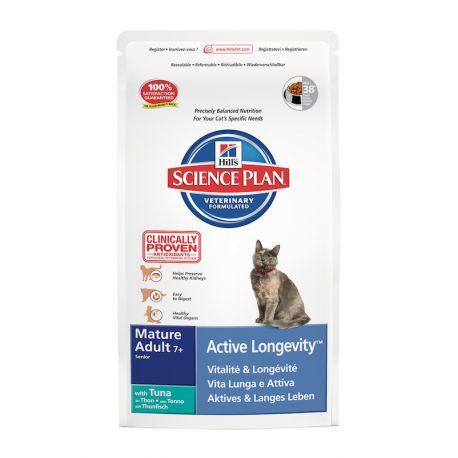 science plan feline mature adult 7 active longevity tonijn droogvoer voor. Black Bedroom Furniture Sets. Home Design Ideas