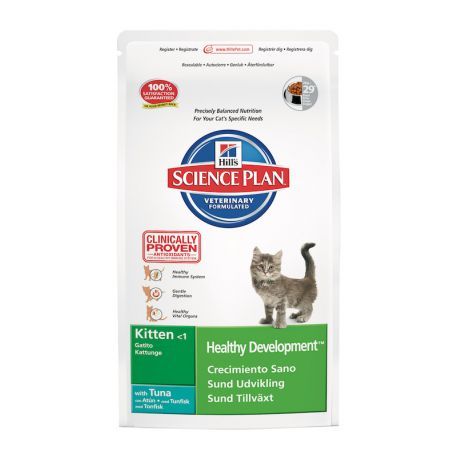 Science Plan Kitten Healthy Development Tonijn