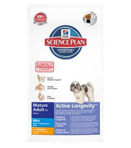 Science Plan Canine Mature Adult 7+ Active Longevity Mini