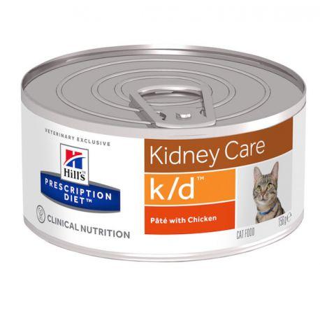 Hill's Prescription Diet k/d Feline Minced with Chicken (blikvoer)