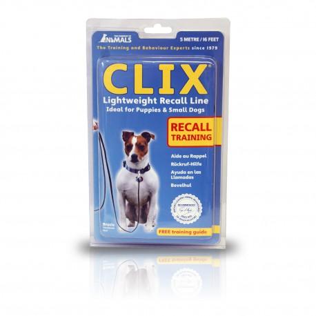 Clix - Terugroeplijn voor hond 5 of 10 meter