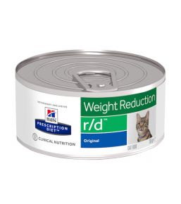 Hill's Prescription Diet r/d Feline Minced with Liver (blikvoer)