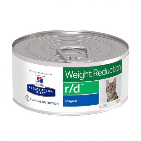 Hill's Prescription Diet r/d Feline Minced with Liver (blikvoer)