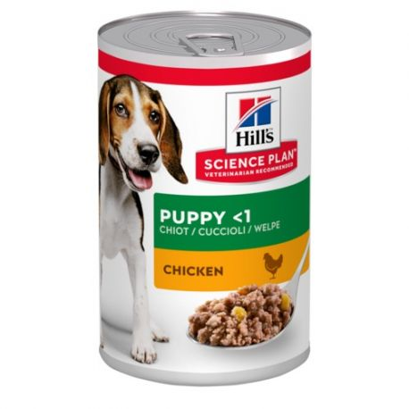 Science Plan Puppy Chicken (blikvoer met kip)