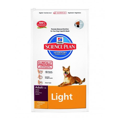 Science Plan Canine Adult Light