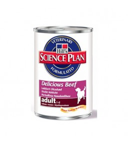 Science Plan Canine Adult Delicious Beef (blikvoer)