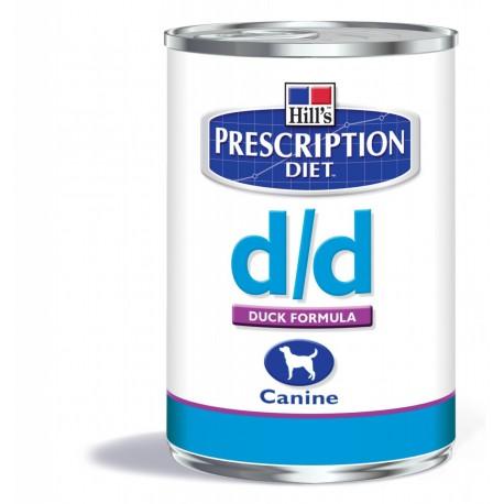 Hill's Prescription Diet D/D Canine Canard (blik)