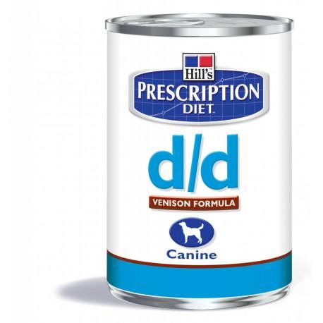 Hill's Prescription Diet D/D Canine Gibier (blik)