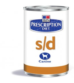 Prescription Diet S/D Canine (blikvoer)
