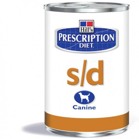 Hill's Prescription Diet S/D Canine (blik)