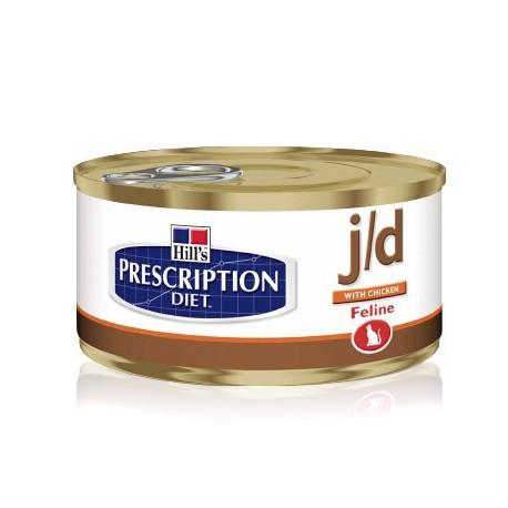 prescription diet j d feline minced with chicken blikvoer voor katten met artrose hill 39 s. Black Bedroom Furniture Sets. Home Design Ideas