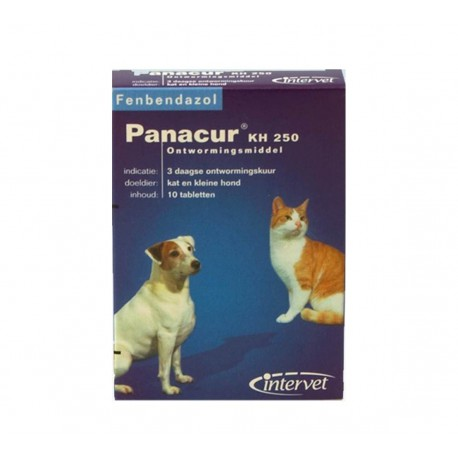 Panacur KH Hond 250 mg